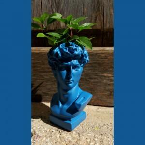 David Blue Vase